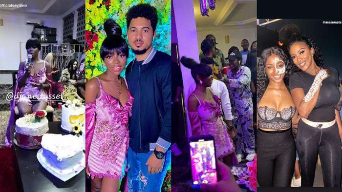 From rock to roll, BBNaija Diane's birthday party was a blast. Watch the highpoints