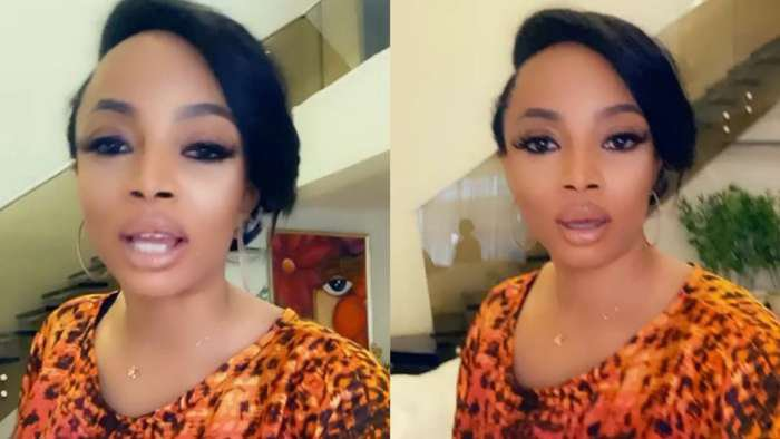 Husband is not going to fly from roof to come and find you – Toke Makinwa advises ladies