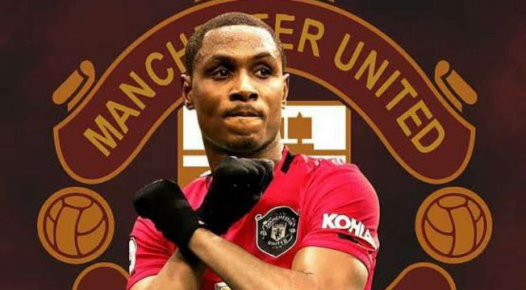 Odion Ighalo to earn N3.8m for every goal scored and N4m for every Premier League win at Man Utd