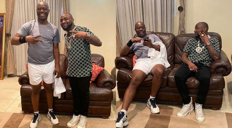 Davido meets Seyi Makinde first time since he became Oyo State governor