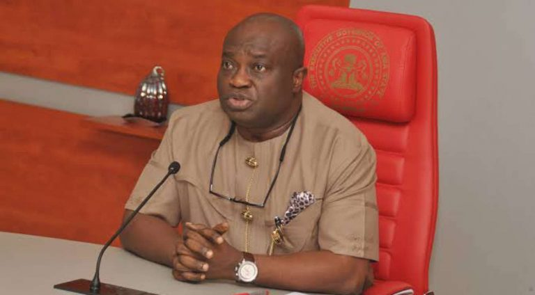 'Coronavirus won't enter Abia State because it's the only Nigerian State mentioned in the Bible' – Gov. Okezie Ikpeazu