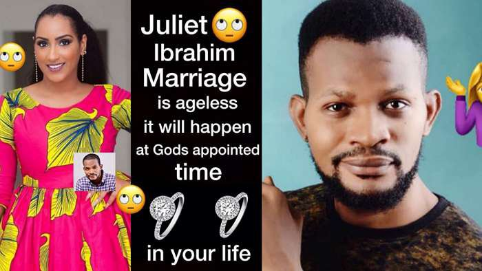 Juliet Ibrahim's marriage is ageless. It will happen at God's appointed time – Uche Maduagwu prophesies