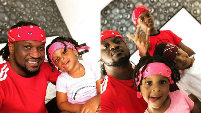 You'll love these adorable photos of Paul Okoye and his kids