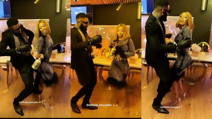 See the moment BBNaija Mercy graced stylist, Swanky Jerry's exclusive dinner party (photos)