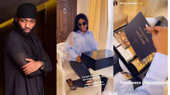 BBNaija's Mercy prepares to go on exclusive dinner with her stylist, Swanky Jerry