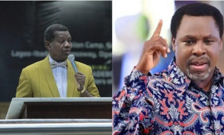 "Contradiction: ""Coronavirus will not die"" – Adeboye tackles T B Joshua"