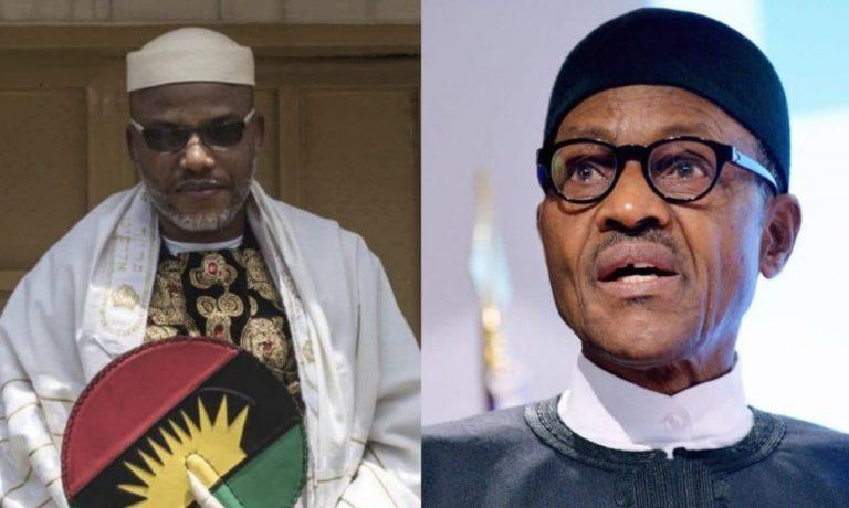 Fresh claims: Nnamdi Kanu reveals Buhari's whereabout
