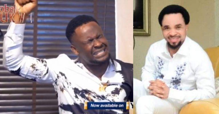 Actor, Zubby Michael mimicks Prophet Odumeje in new video