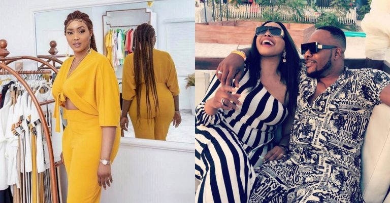 """""""Your husband can never leave you"""" – fan gushes over the beautiful shape of Bolanle's wife, Bunmi"""