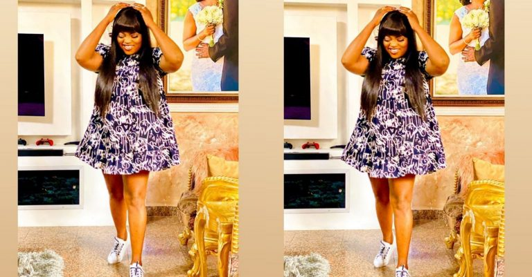Actress, Funke Akindele-Bello slays like an under 20 in new photo, prays for her fans