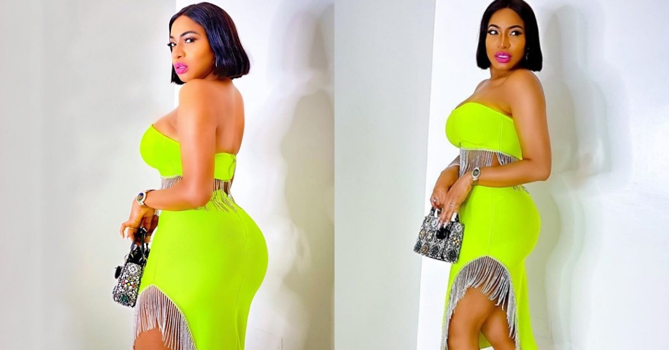 Nollywood actress, Chika Ike causes commotion on Instagram with new adorable photos