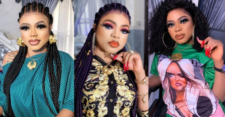 Bobrisky doles out 5k to uncountable fans to celebrate as he hits 2 million followers on IG