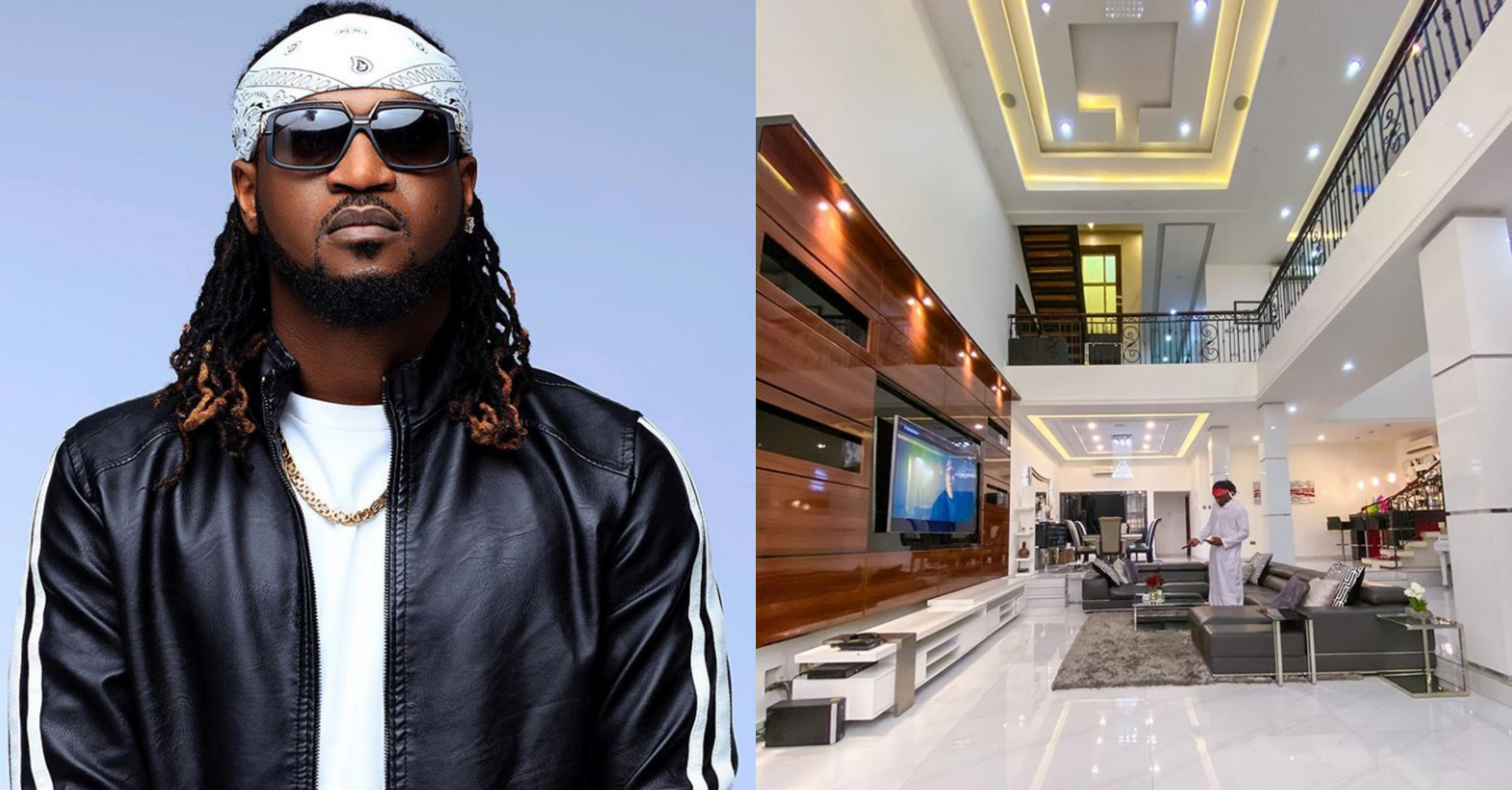 Rudeboy shows off mind blowing interiors of his luxurious mansion