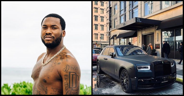 Covid-19: American Rapper, Meek Mill donates his ₦1.8b Rolls Royce to help feed less privileged