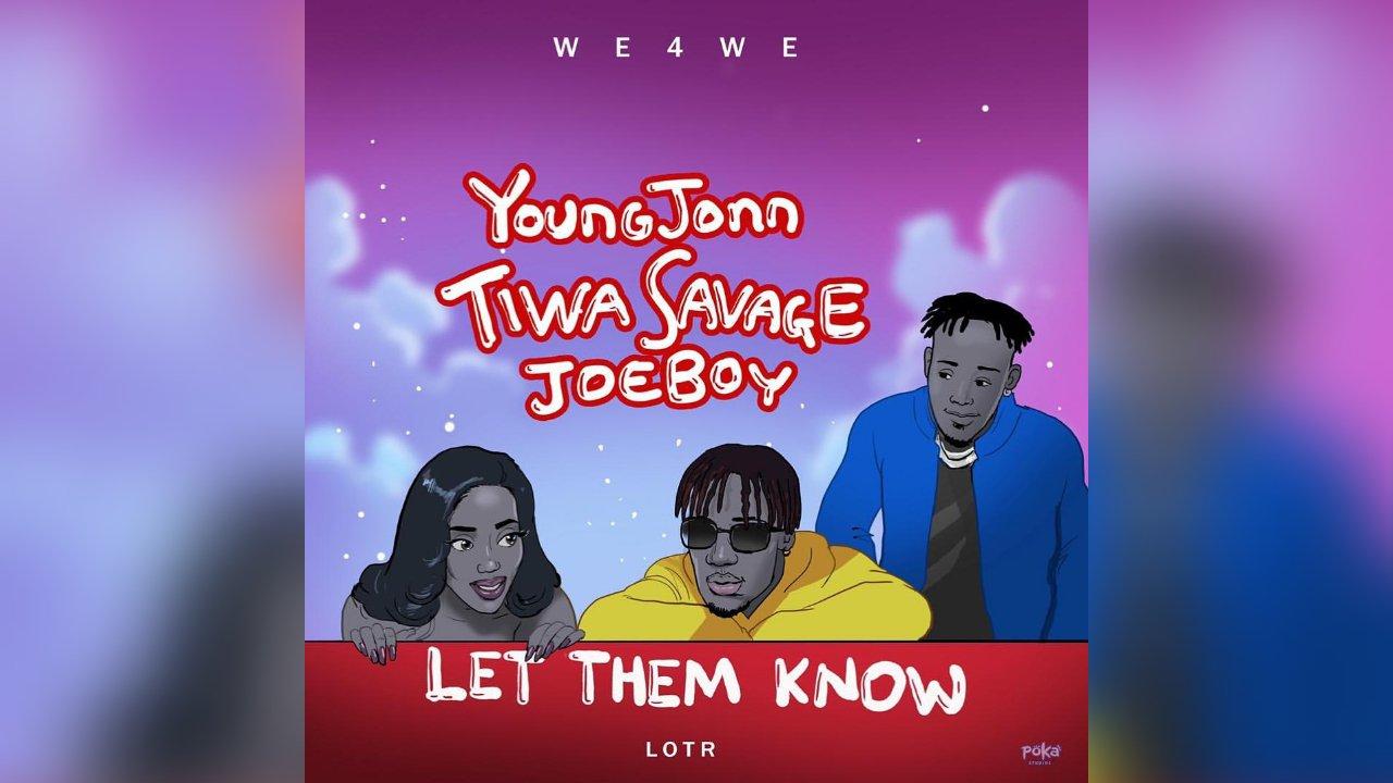 Download Instrumental Young Jonn ft. Tiwa Savage x Joeboy – Let Them Know (Reprod. By Melodysongz)