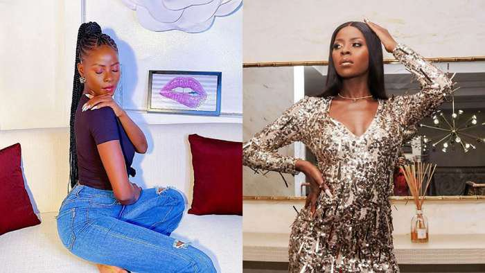 BBNaija star, Khloe worries about her increasing weight and bumpy tummy