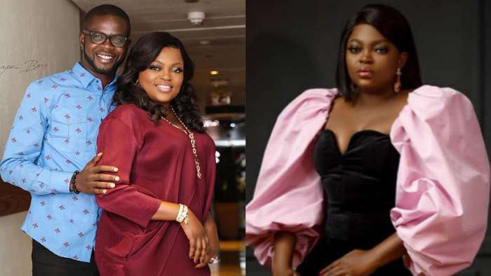 Nigerians drag actress, Funke Akindele and husband, JJC Skillz for hosting birthday party with invited guests despite Covid-19 pandemic