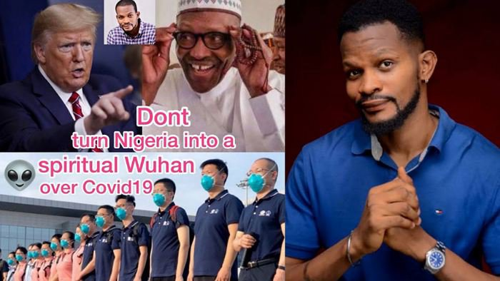 """Bringing in Chinese doctors might turn Nigeria into spiritual Wuhan"" – Uche Maduagwu tells Buhari"
