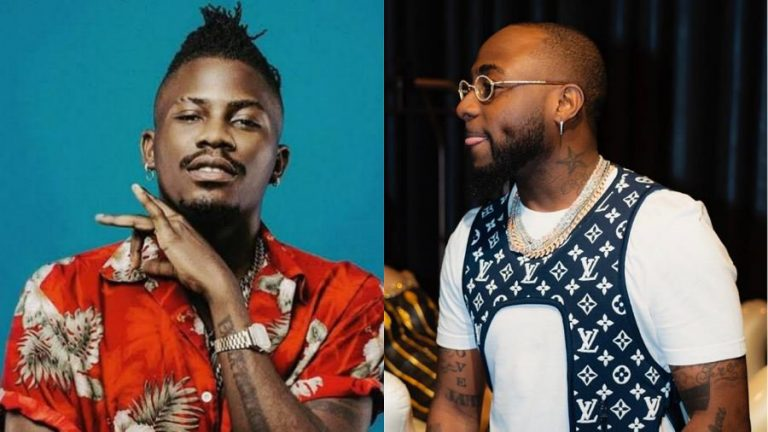 Davido and Ycee at each other's neck, brag who is best rapper between Dremo and Ycee (screenshot)