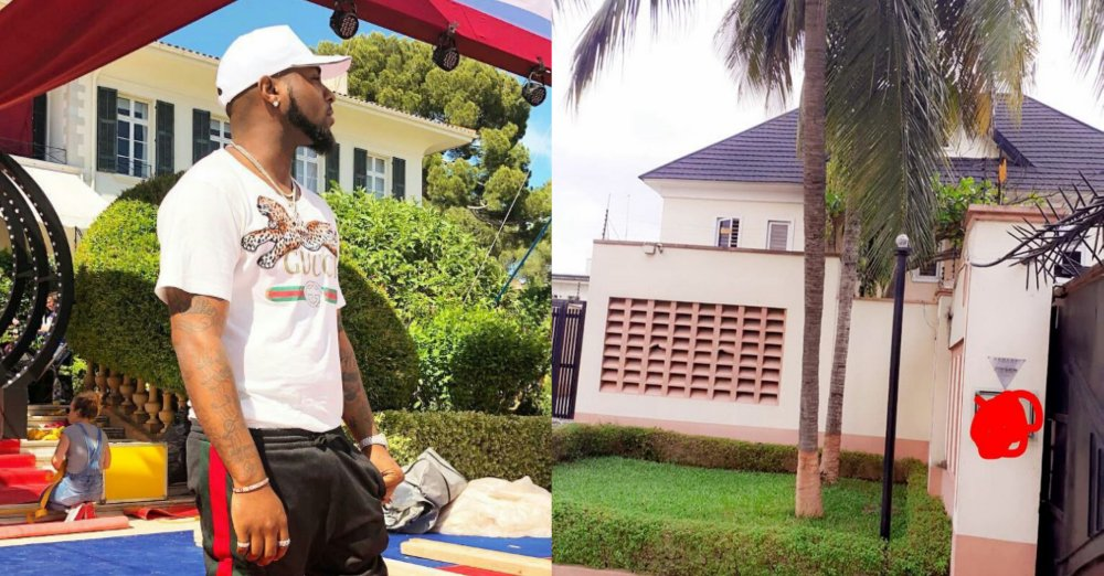 Singer, Davido buys his workers a brand new house in Lekki