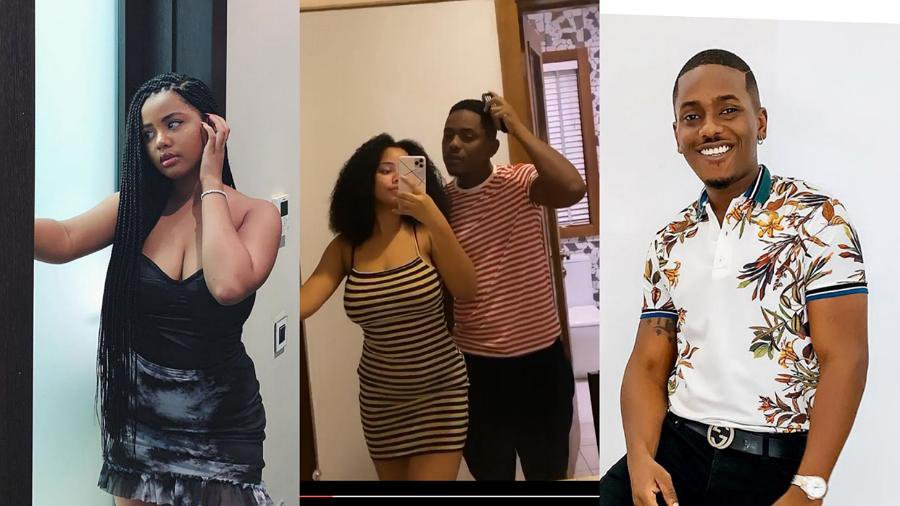 Actor, Timini Egbuson's alleged teen girlfriend, Lydia finally confirms they're dating (video)