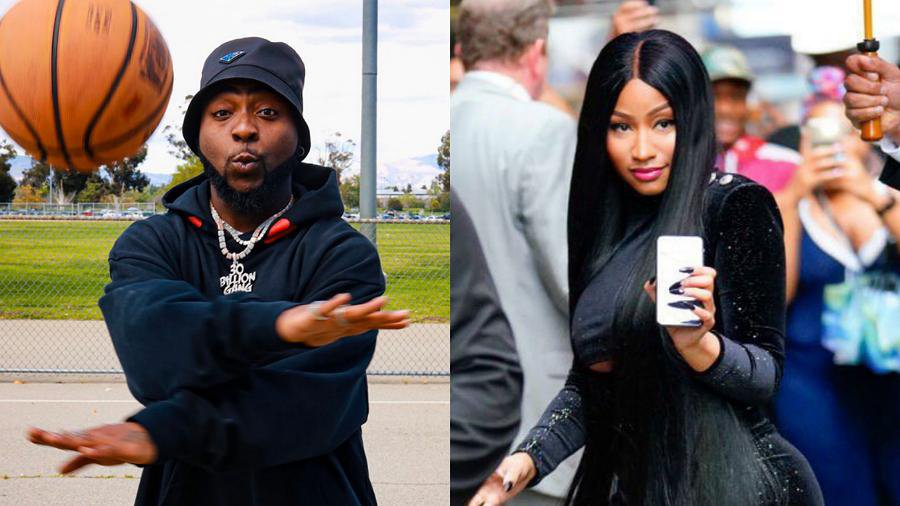 Singer Davido announces collaboration with American rap diva, Nicki Minaj