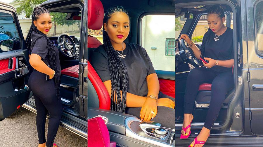 """I'm such a hottie"" – Actress, Regina Daniels gushes over herself as she shares adorable photos"