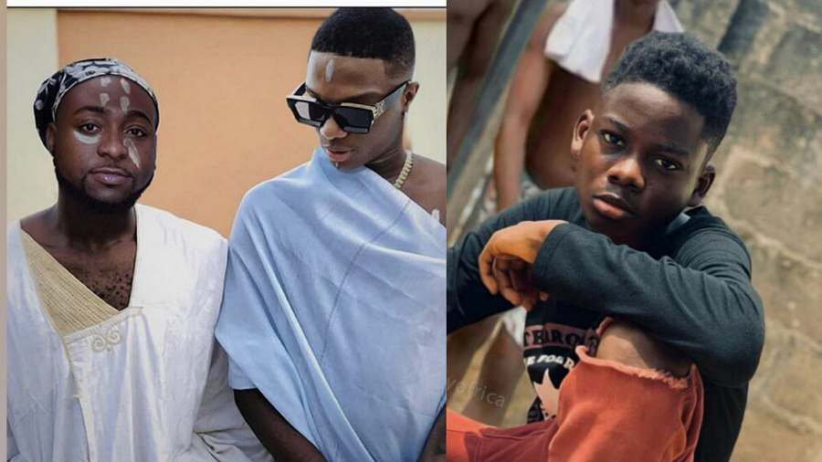 Davido gifts N1m to graphic designer who photoshopped him and ...