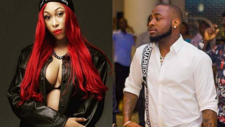 'Thank you OBO, God bless you' – Embattled Cynthia Morgan appreciates Davido after he promised her a song together