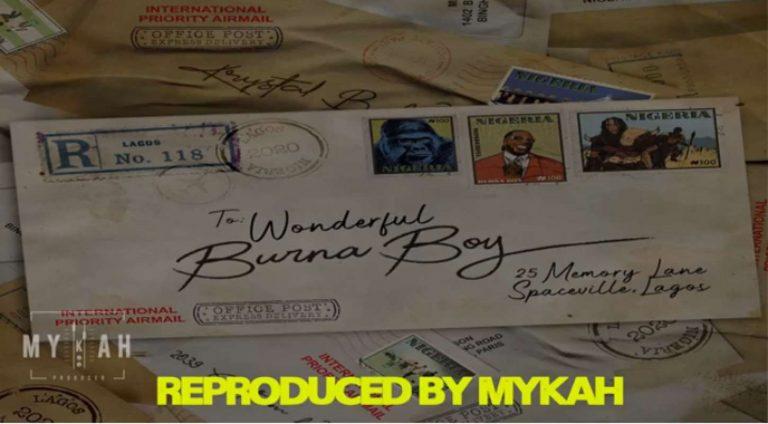 Download Instrumental Burna Boy – Wonderful (Reprod. By Mykah)