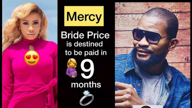 'Mercy Eke's bride price will be paid in 9 months time' – Uche Maduagwu prophesies
