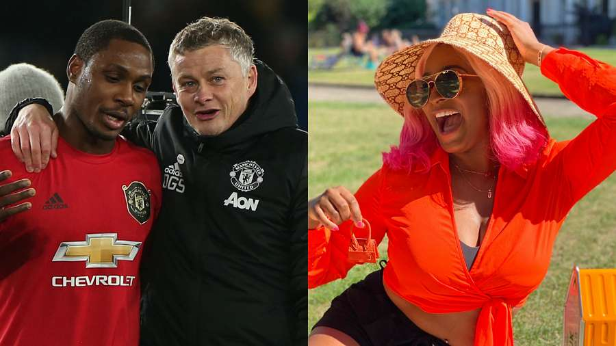 Man Utd welcomes Dj Cuppy after she promised to join the club if Ighalo scores in a match