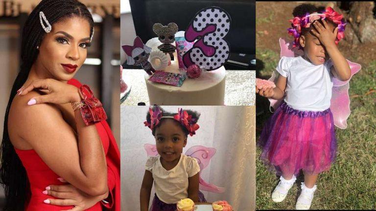 BBNaija Venita's younger daughter turns 3