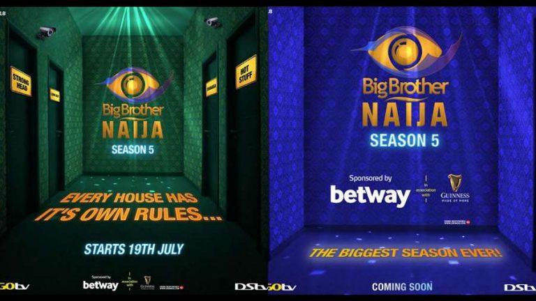 Big Brother Naija season 5 premieres July 19, 2020