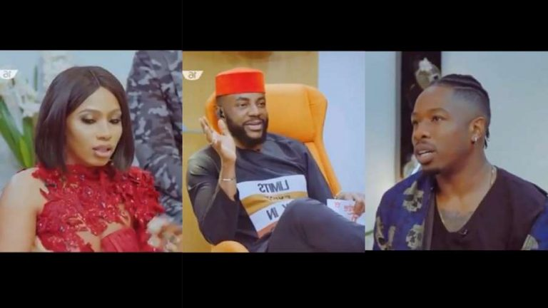Day 17: BBNaija Pepper Dem Reunion: Ike explains why he and Mercy currently unfollow each other