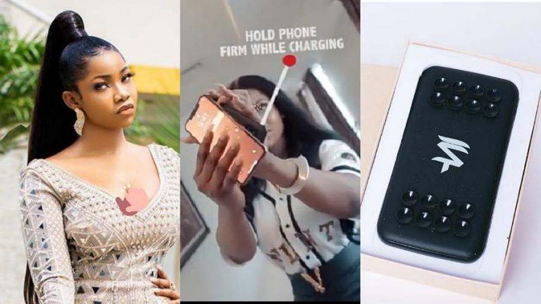BBNaija's Tacha finally launches new product, 'Power Tacha'
