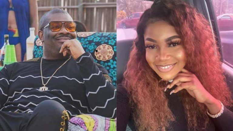 Don Jazzy patronizes Tacha, buys off 20 pieces of her new product