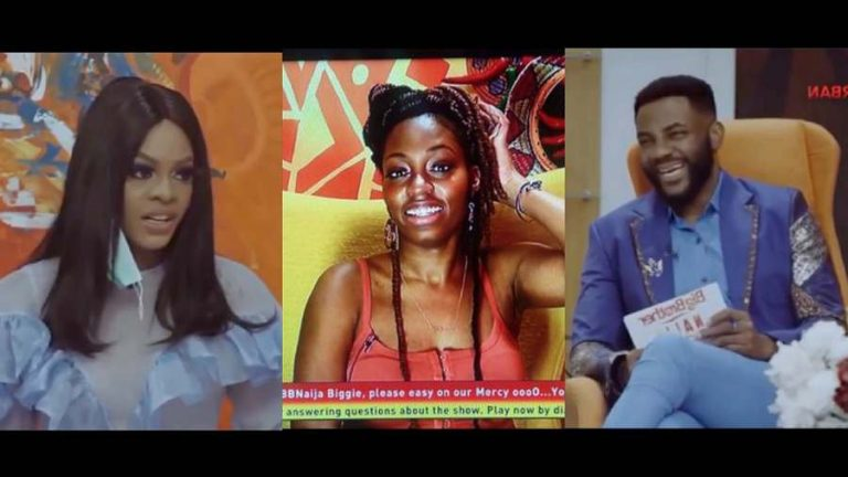 Day 4: BBNaija Pepper Dem Reunion: Jackye accuses Khafi of tarnishing image of housemates in diary room