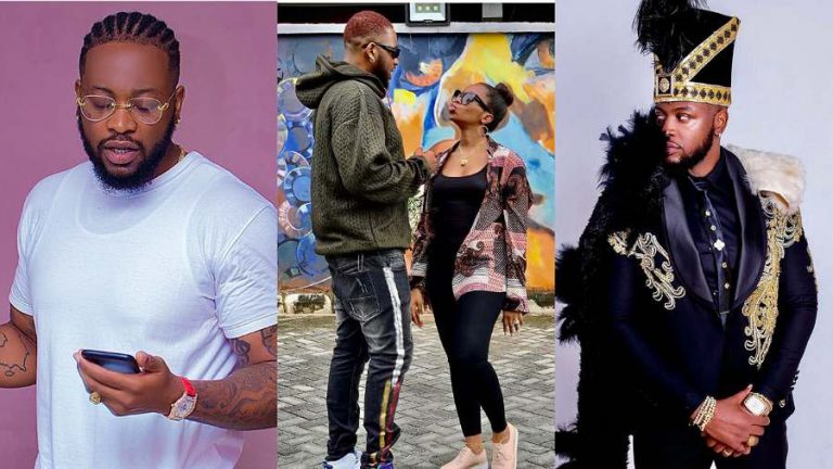 BBNaija's Bam Bam lavishes husband, Teddy A with sweet message on his 32nd birthday