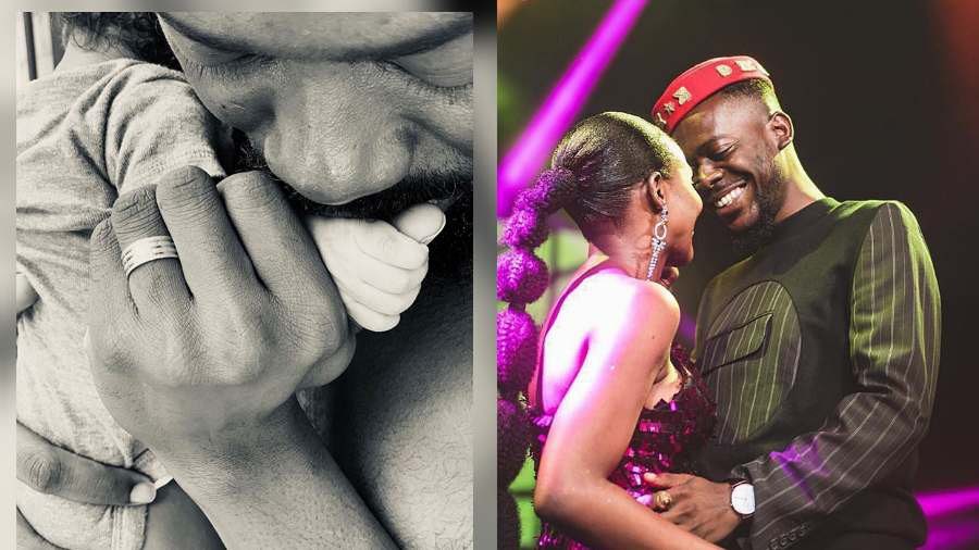 Adekunle Gold and wife, Simi welcome their first child, a baby girl
