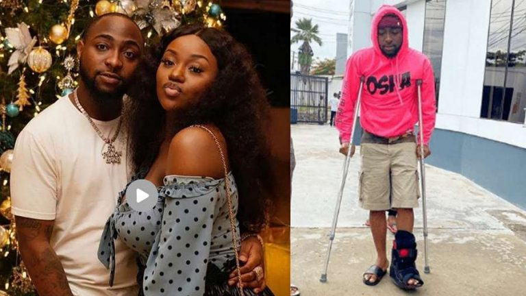 'Chioma broke Davido's leg' – Source reveals