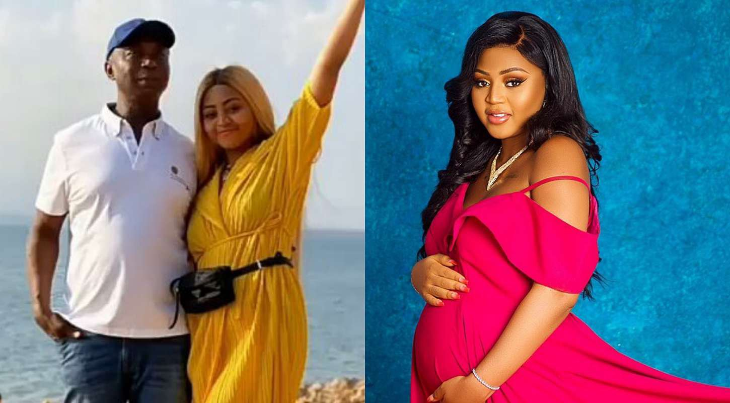 Ned Nwoko promises to be with his wife, Regina Daniels in the labour room