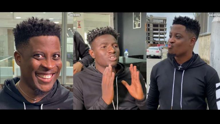 BBNaija's Seyi shows off comic skills in a hilarious comedy skit with Nasty Blaq