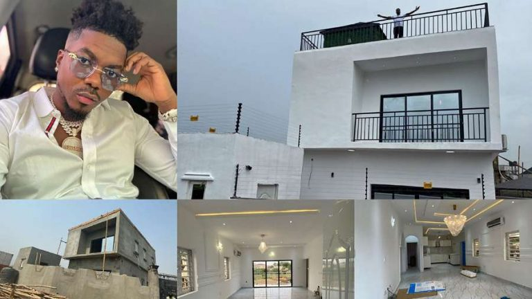 Singer Skiibii celebrates successful completion of his mansion on his birthday