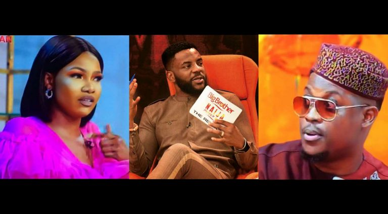 Day 21: BBNaija Pepper Dem Reunion: Seyi finally apologizes for calling Tacha prostitute