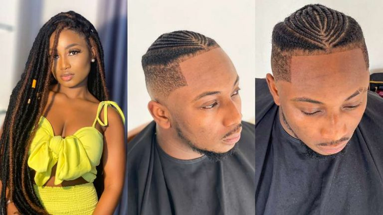 BBNaija's Esther reacts to Sir Dee's new hairstyle