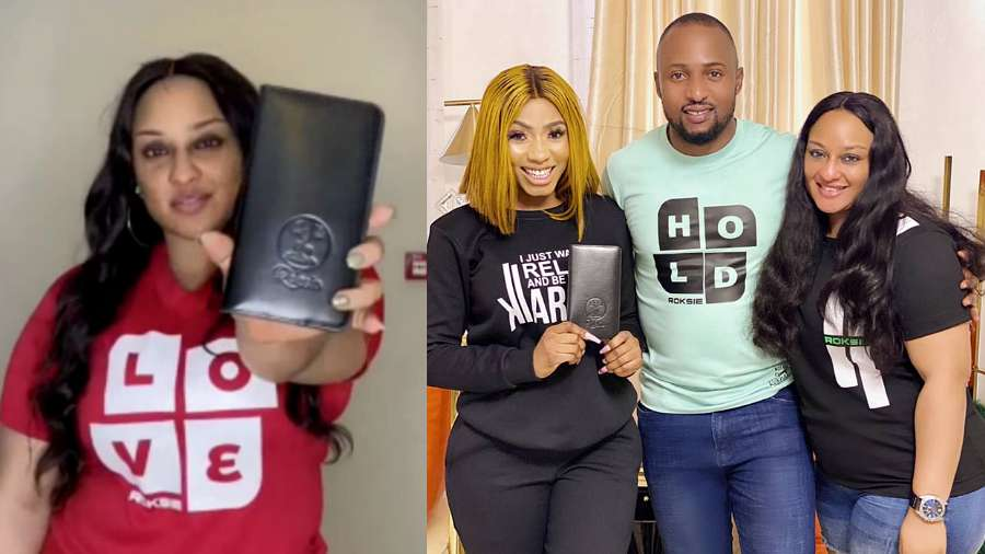 Mercy Eke endorses Ultimate Love co-winners Rosie and Kachi's brand
