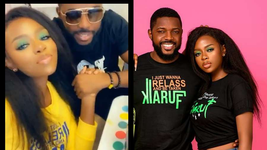 'Jerry has been crushing on Diane' – Fans react to video of BBNaija's Diane and Ultimate Love's Jerry