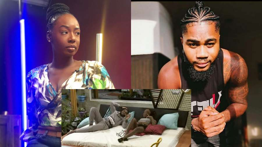 BBNaija2020: Tolanibaj disallows Praise to kiss her in Truth or Dare game; See why