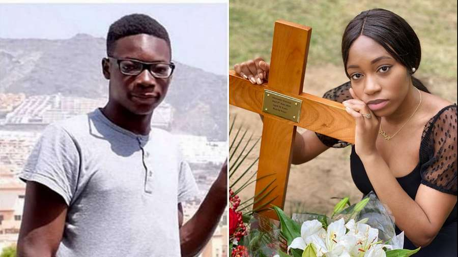 BBNaija Khafi's younger brother Alexander laid to rest
